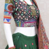 15 Meter Palkhi Fashion Designer Chaniya Choli With Real Mirror Work