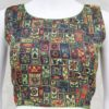 Attractive Printed Soft Silk Ready-made Blouse in Multi Color