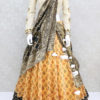 Majestic Light Yellow Multi Color Lehenga Set With Appealing Work