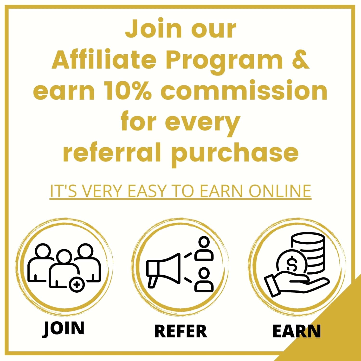 Join Our Affiliate Program &Amp; Earn Up To 10% For Every Referral